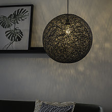 Design hanging lamp gray - Corda 45