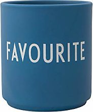 Design Letters Favourite Mug Blue