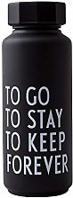 Design Letters Thermo/Insulated bottle (Black) -