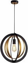 Design Pendant Helen 1 Bulb Black 50 Cm