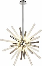 Design pendant light DElipsa 16 Bulbs Polished
