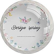 Design Spring, 4Pack ABS Dresser Knobs Cabinet