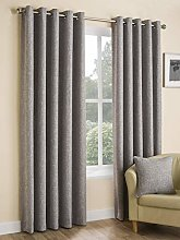 Design Studio Curtains Tranquility Silver 117 x
