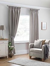 Design Studio Versailles Oatmeal Pencil Pleat