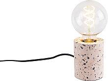 Design table lamp pink granite - Baranda