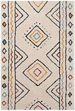 Design Verlour Deep Pile Carpet Disa Cream Multi