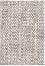 Design Verlour Deep Pile Carpet Impress Grey Taupe