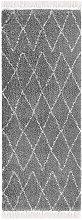 Design Verlour Deep Pile Carpet Jade Dark Grey