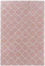 Design Verlour Deep Pile Carpet Luna Pink Cream 80