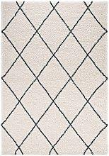 Design Verlours Deep Pile Carpet Archer Feel Cream
