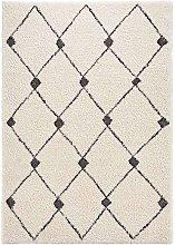 Design Verlours Deep Pile Carpet Create Grey Black