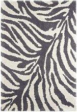 Design Verlours Deep Pile Carpet Desert Grey Cream