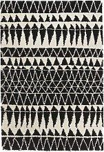 Design Verlours Deep Pile Carpet Inspire Black 120