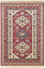 Design Viscose Carpet Cult Fringed Red 120 x 170cm