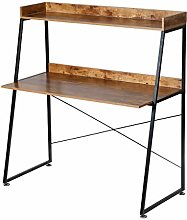 DESIGNA Study Desk 2 Tier Ladder Desk Office Desk
