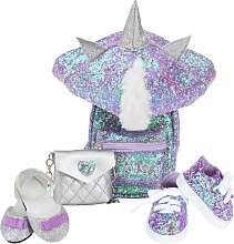 Designafriend Unicorn Accessory Set