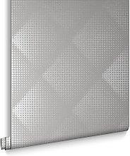 Designer Braille Chester White Wallpaper 32-771