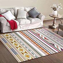 Designer Carpet Modern rug Color stripe geometry