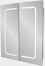 Designer Line 2-Door Mirrored Bathroom Cabinet