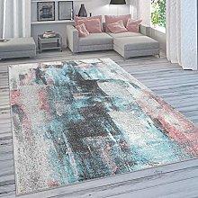 Designer Rug For Living Room, Pastel Colours,