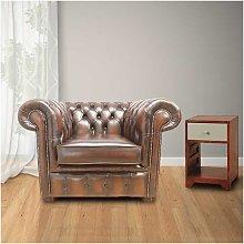 Designer Sofas 4 U - Bexley Club Chair Antique