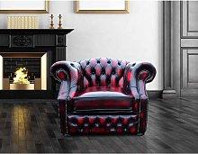 Designer Sofas 4 U - Buy Chesterfield Red