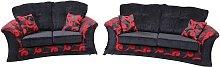 Designer Sofas 4 U - Buy fabric settee|interest