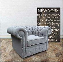 Designer Sofas 4 U - Buy Grey Linen Fabric
