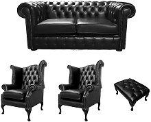 Designer Sofas 4 U - Chesterfield 2 Seater Sofa +