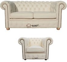 Designer Sofas 4 U - Chesterfield 2 Seater Sofa +