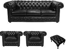 Designer Sofas 4 U - Chesterfield 3 Seater + 2 x