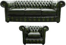 Designer Sofas 4 U - Chesterfield 3 Seater Sofa +