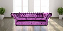 Designer Sofas 4 U - Chesterfield Grosvenor Purple
