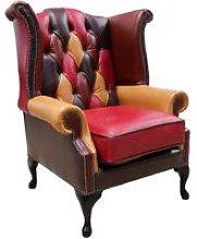 Designer Sofas 4 U - Chesterfield Patchwork