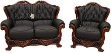 Designer Sofas 4 U - Dante 2 Seater + Armchair