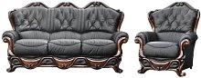 Designer Sofas 4 U - Illinois Sofa Set 3 Seater +