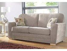 Designer Sofas 4 U - Keira 3 Seater Sofa Taupe