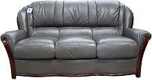 Designer Sofas 4 U - Pisa 3 Seater Italian Leather