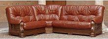 Designer Sofas 4 U - Rovira Italian Leather Corner