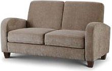 Designer Sofas 4 U - Vivo 2 Seater Sofa in Mink