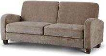 Designer Sofas 4 U - Vivo 3 Seater Sofa in Mink