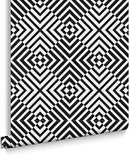 Designer The Hypnotist Mono Wallpaper