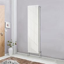 Designer Vertical White 1800x590 Radiator Tall