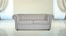 DesignerSofas4U   Buy 2 Seater Crystal White