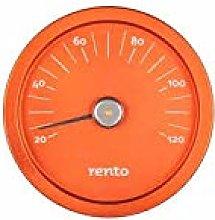 Desineo RENTO Aluminium Sauna Thermometer Copper