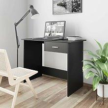 Desk Black 100x50x76 cm Chipboard VD31584 - Hommoo
