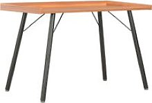 Desk Brown 90x50x79 cm - Brown - Vidaxl