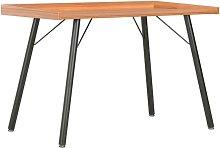 Desk Brown 90x50x79 cm - Hommoo