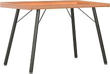 Desk Brown 90x50x79 cm QAH07563 - Hommoo