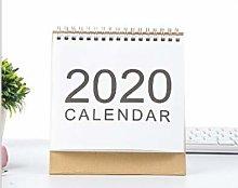 Desk Calendar 2020, Standing Desktop Calendar